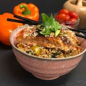 Foodie Fit - Salmon Bowl